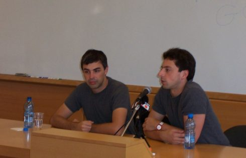 larry page and serget brin google founder