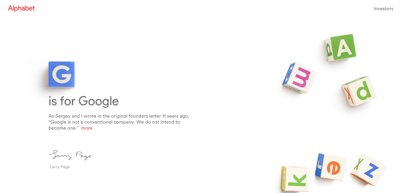 Why Google Transformed into Alphabet