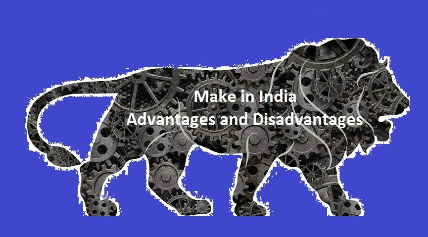 make in India logo advantages disadvantages
