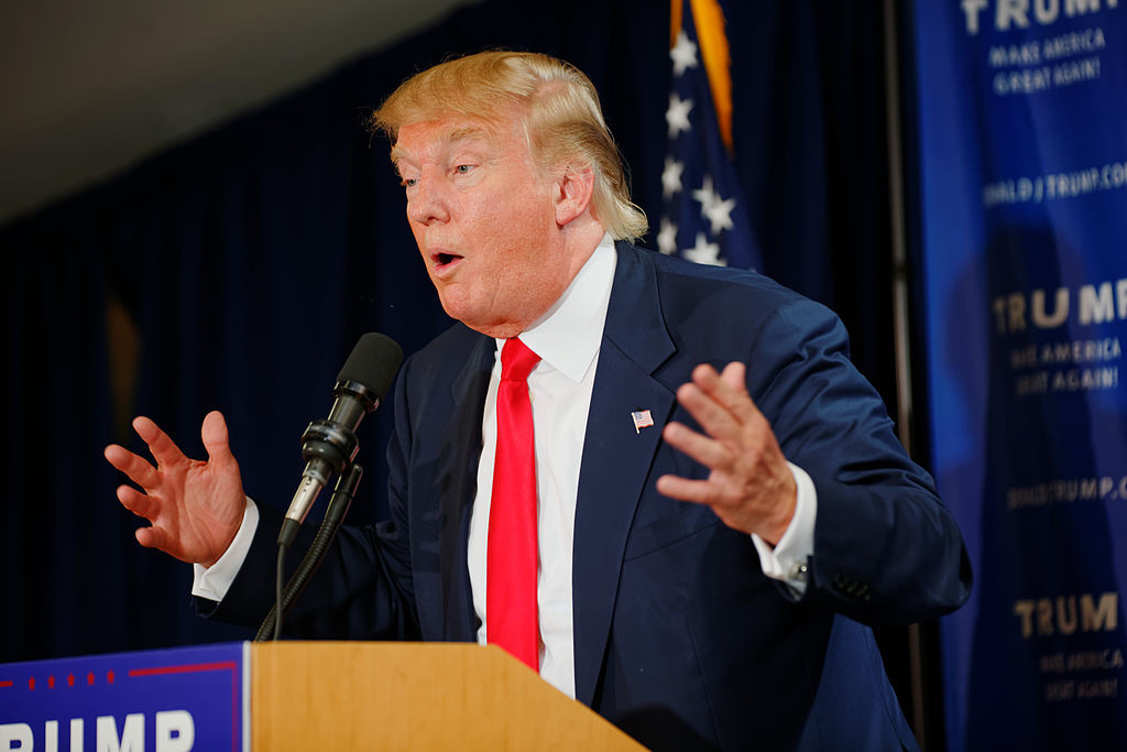 Donald Trump elected 45th American President won election