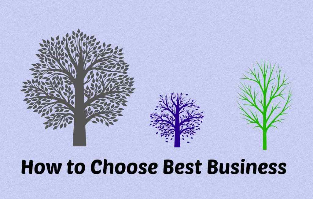 choose best business to start