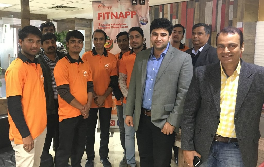 fitnapp fitness app team
