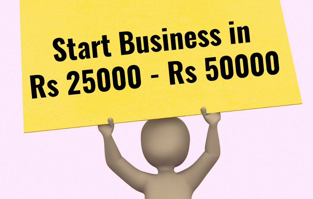 low cost business ideas in rs 25000 to rs 50000