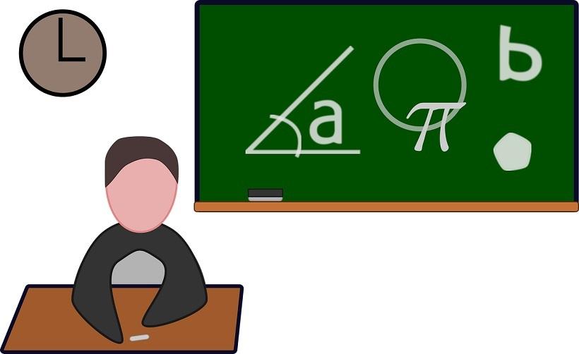 mathematics class black board solution start tutoring business