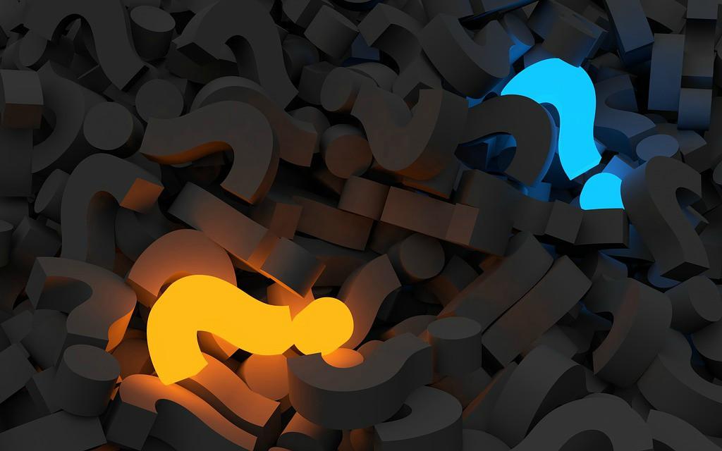 lightning question mark to represent ask advice for entrepreneurs