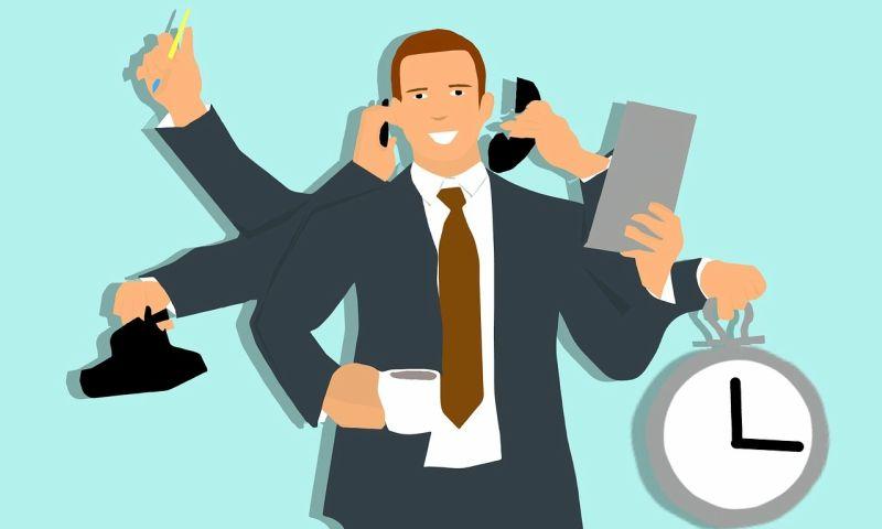 multitasking sales employee, multitasking sales skill