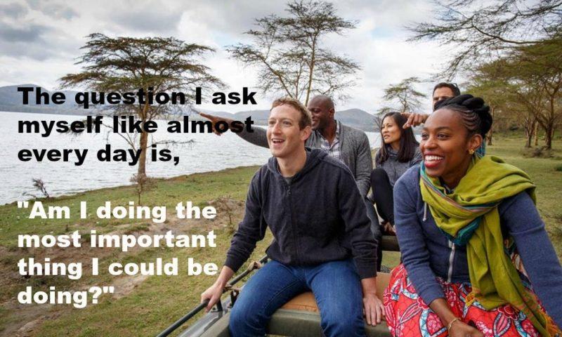 What made Mark Zuckerberg successful?