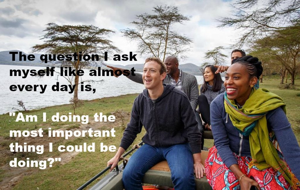 mark zuckerberg guiding leader team happy smile
