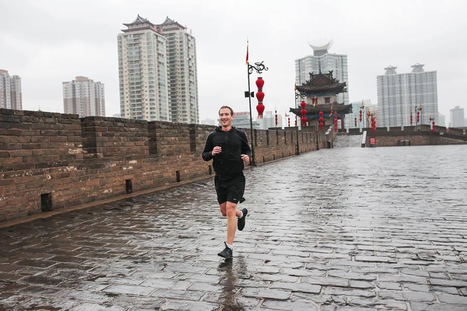 mark zuckerberg passion running