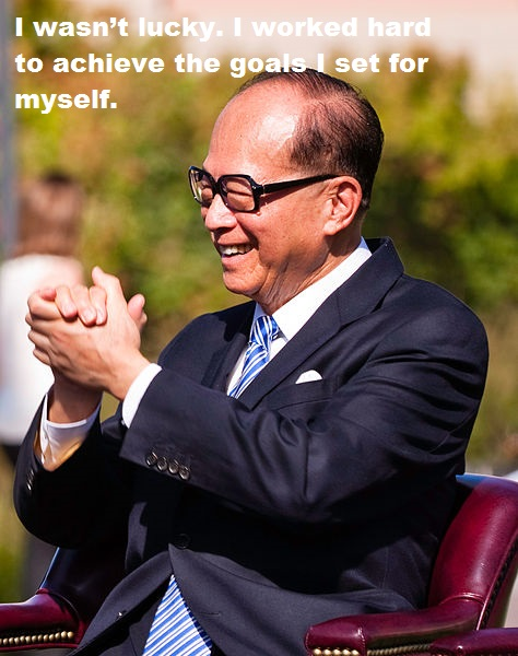 li ka shing quotes images picture