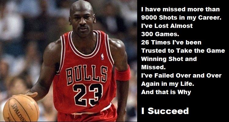 michael jordan failure success quote