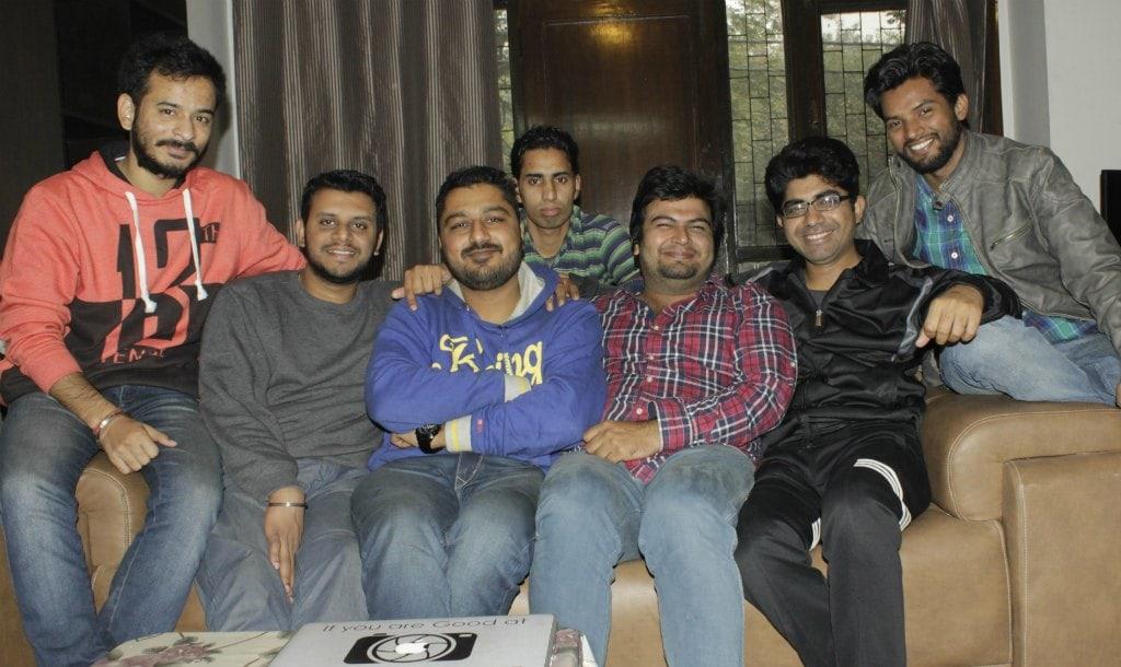 pdt purani dili talkies delhi team group pic