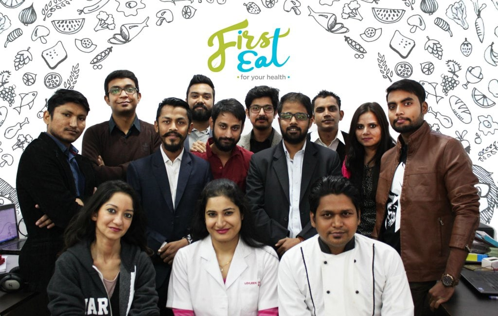 first eat team food startup