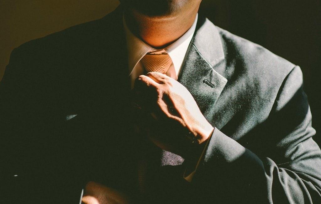 businessman tie professional suit man quality