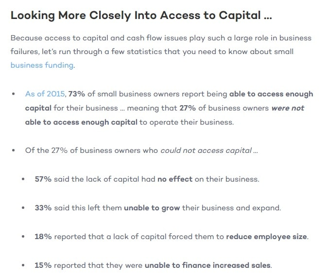 how many small business owner access funds