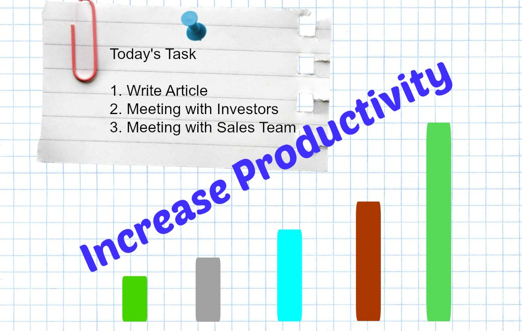 increase productivity to do list