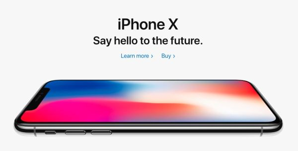 apple iphone X, iphone 10, say hello to future, apple iphone