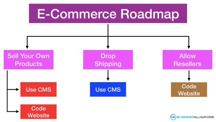 e-commerce roadmap, e-commerce business roadmap