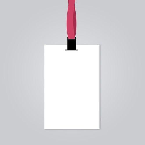 blank employee id card, id card, identity card