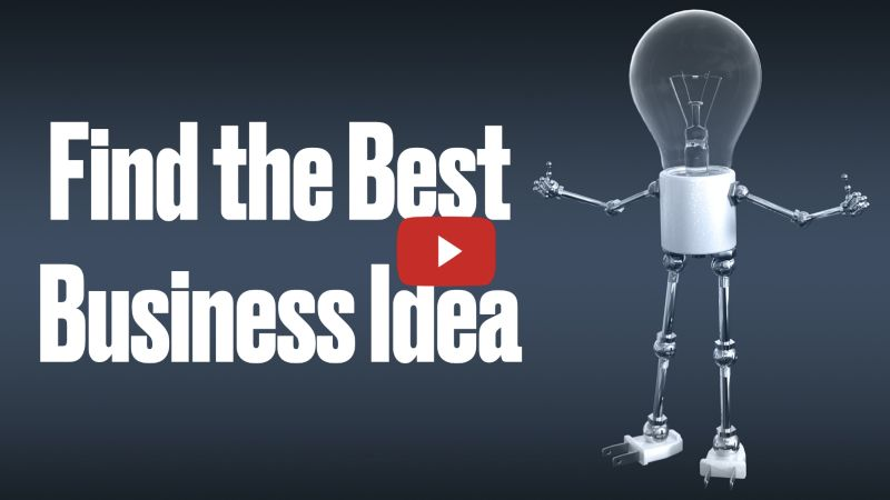 How to find a unique business idea? [Video]
