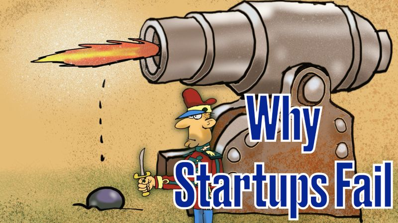 why startup fail, startup fail, startup failure